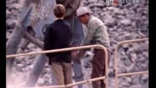 Курпсайская ГЭС на реке Нарын Киргизия. 1977год