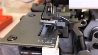 Silvercrest overlock machine touching base plate
