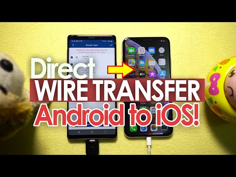 How To Directly Wire Transfer Data - Android To IPhone? [Easy & Fast] 🔥🔥