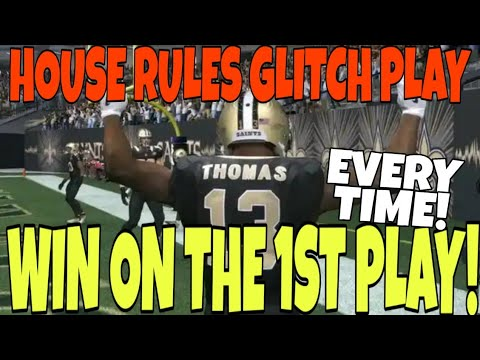 fastest-way-to-get-instant-wins-in-house-rules!-score-on-the-1st-play-guaranteed!-madden-20-mut-tips