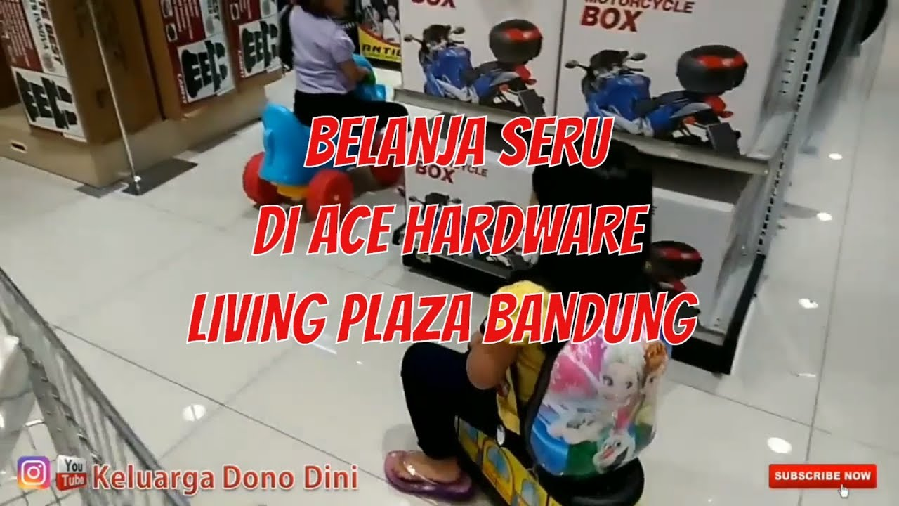 Belanja, Makan, bermain di Living Plaza Pasir Kaliki Bandung
