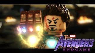 LEGO Avengers Endgame Final Scene -  Iron man vs. Thanos! ( SPOILERS )