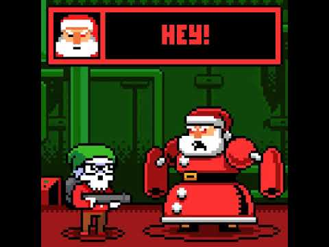 Final Battle 2017 Boss: Cyborg Santa