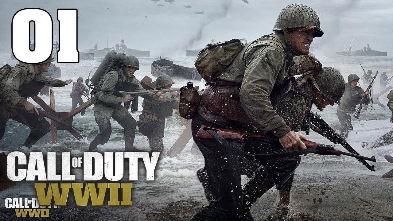 CHIẾN TRANH THẾ GIỚI LẦN 2- Cùng Chơi Call of Duty: WWII #1