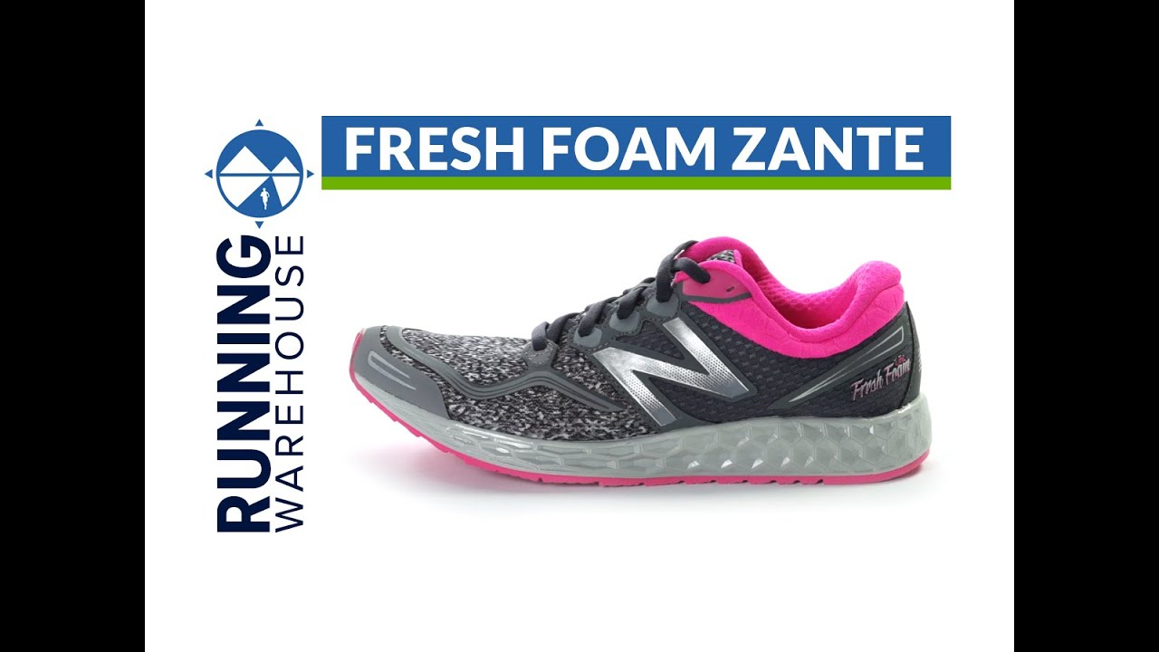 New Balance Fresh Foam Zante Womens Running Shoes L77y5333