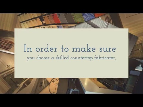 How to Find a Good Countertop Fabricator | Delorie Countertops & Doors Inc. | Pompano Beach