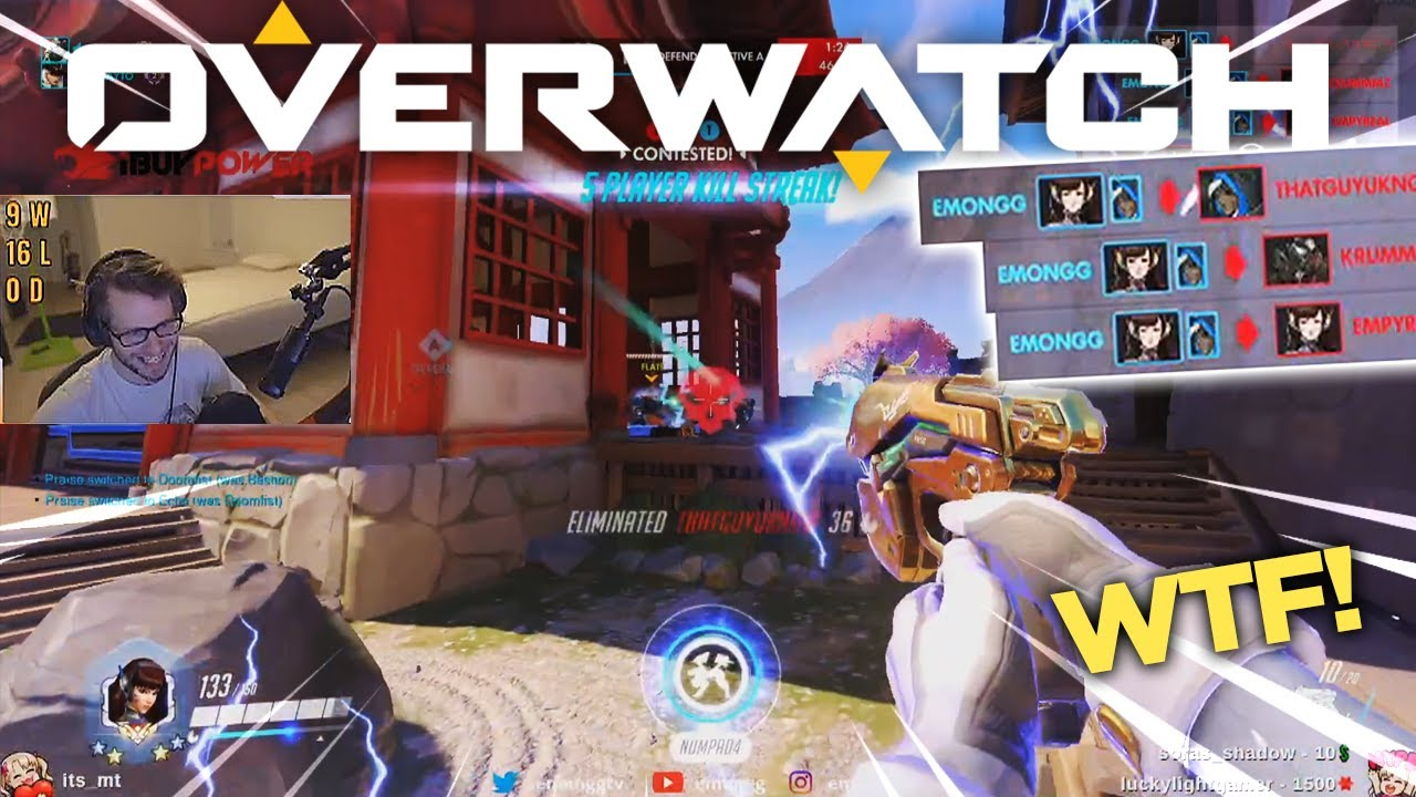Overwatch MOST VIEWED Twitch Clips of The Week! #96