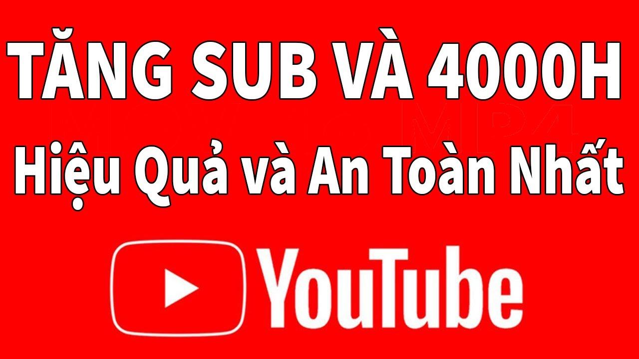 Cách Tăng SUB YouTube và Kiếm 4000 giờ xem   YouTube SEO 2020