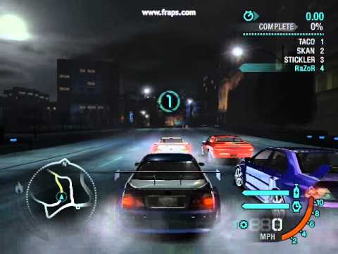 Need For Speed Carbon Bmw M3 Gtr Reward Card Youtube