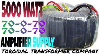 5000 WATT 70.0.70 , 70.0.70 AMPLIFIER SUPPLY