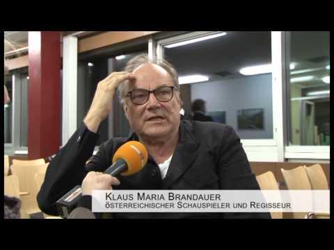 Lesung mit Klaus Maria Brandauer am Dachstein