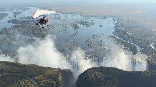 世界遺産 ~ヴィクトリアの滝(ザンビアジンバブエ)~