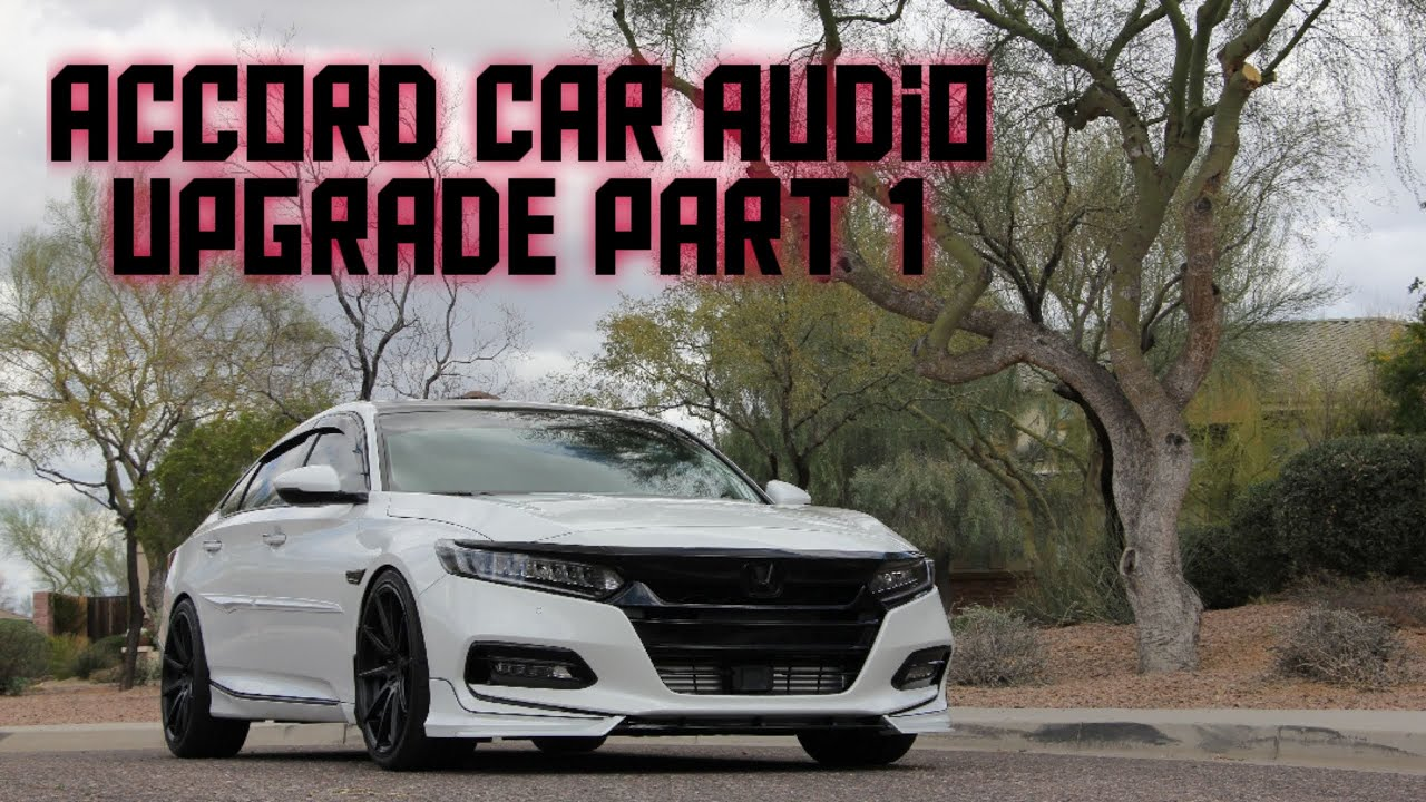 2018+ Accord Car Audio Upgrade Options and Amplifier & Lc7i Install