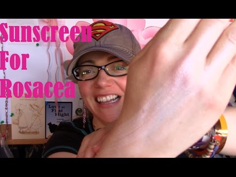 Sunshine, Sunscreen, Rosacea And Me (not Sponsored) | Rosy JulieBC