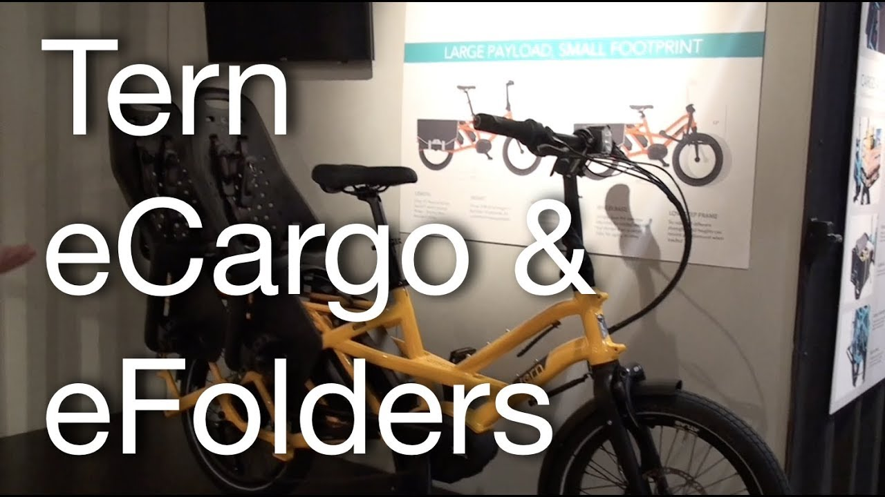 2019 tern gsd ecargo vektron efolder bikes electric. Black Bedroom Furniture Sets. Home Design Ideas