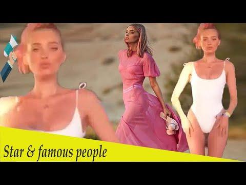 Elsa Hosk rocks bathing suit after sporting sheer dress at Coachella