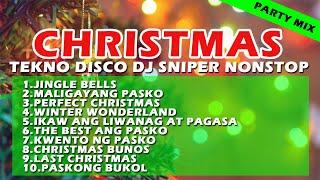 CHRISTMAS DISCO TEKNO REMIX NONSTOP MEDLEY |DJ SNIPER