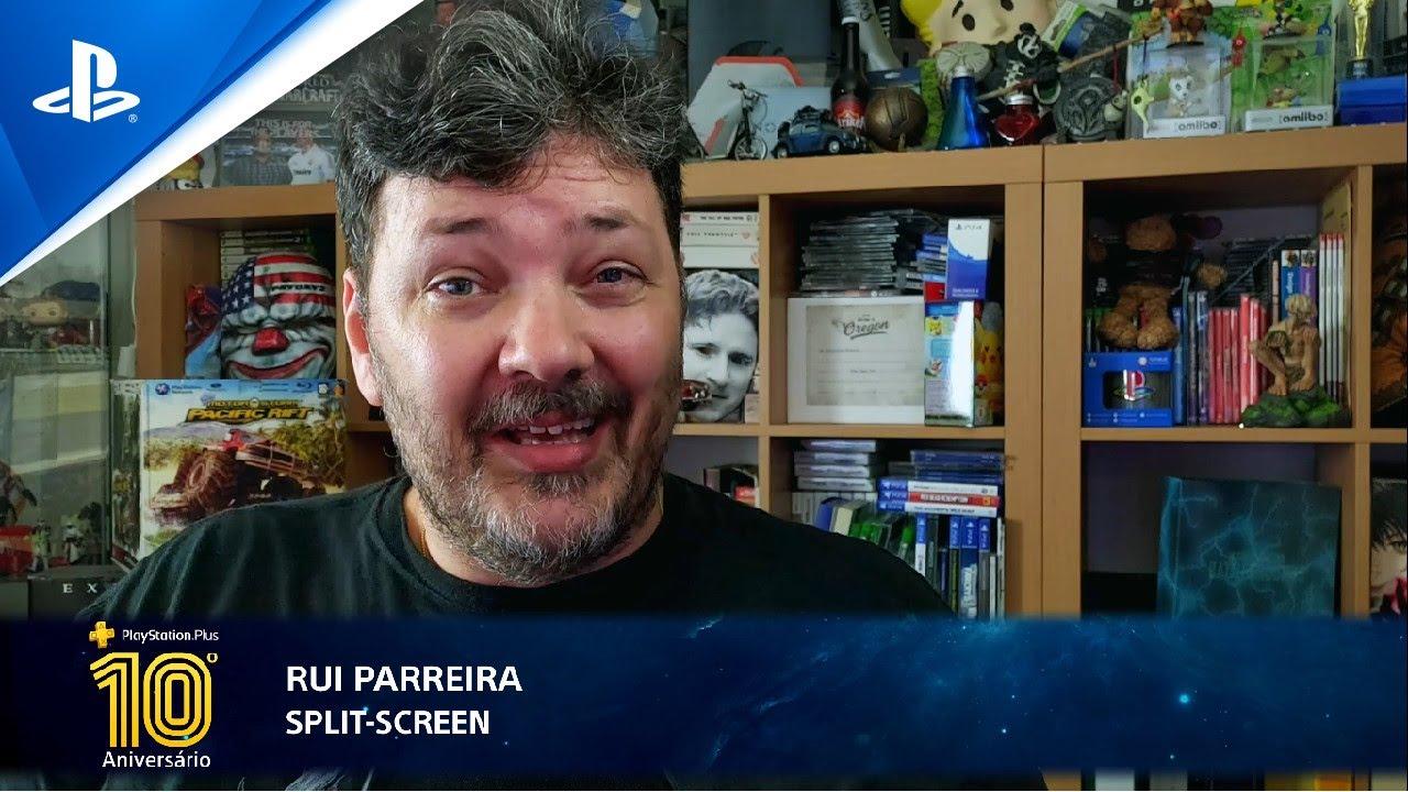 10º Aniversário PS Plus | As memórias de Rui Parreira (Split Screen)