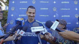 "WATCH: Zlatan Ibrahimovic on LA Galaxy match against LAFC: ""Weak people fail. Strong people win."""