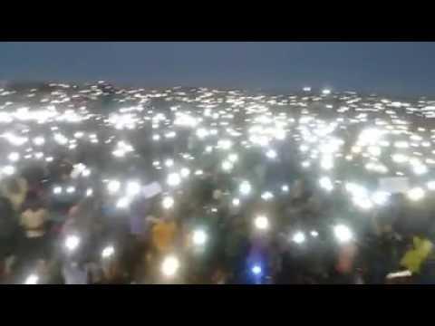 World's largest Peaceful Protest, Chennai, Marina Beach