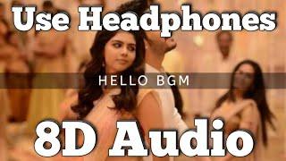 Hello (Movie) | BGM -(8D Version) | Anup Rubens | Akhil Akkineni | Kalyani Priyadarshan