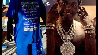 Rolling 60 Crip Don't Care Kodak Black Apologize He Banned From L.A...DA PRODUCT DVD