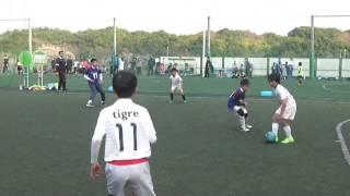 【U-10サッカー】U12 万博フットサルカップ 2017.3.19 [10Y/O soccer boy]