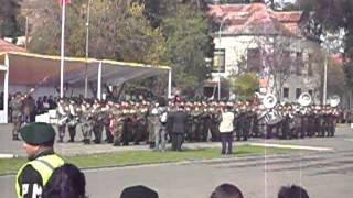 banda de guerra regimiento talca 2011.AVI