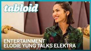 French actress elodie yung talked to gulf news tabloid at the middle east film and comic con on march 6. actress, most famous for playing elektra natchio...