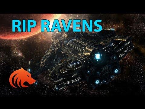 StarCraft 2: RAVENS DEALING DAMAGE?! RIP SEEKER MISSILE