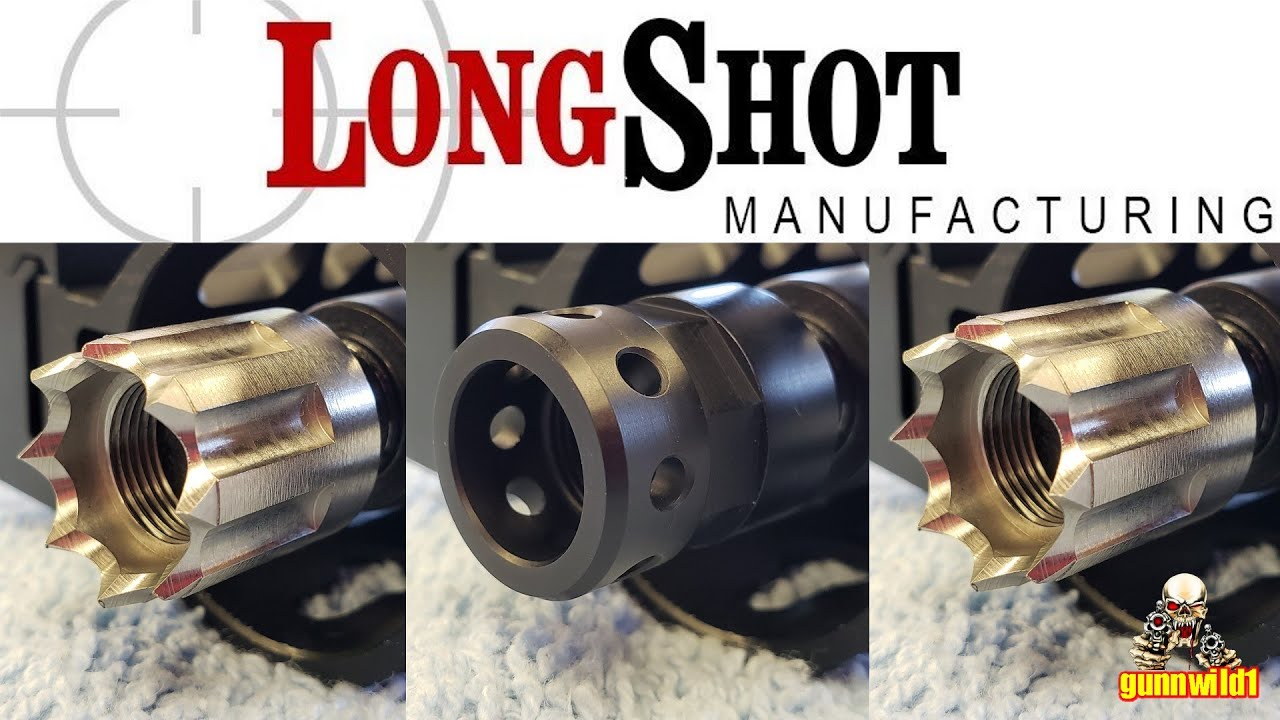 LongShot Mfg Muzzle Devices