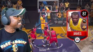 POINT GUARD LEBRON IS A HACK! NBA Live Mobile 20 Season 4 Gameplay Pack Opening Ep. 19