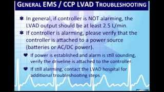 Critical Care Paramedic 7:  Left Ventricular Assist Devices (LVADs)