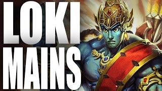 WHY LOKI MAINS ARE TRASH! - SMITE FUNNY MOMENTS