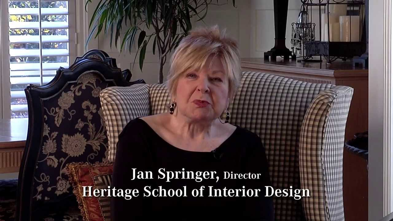 Jan Springer Director of Portland Interior Design School YouTube