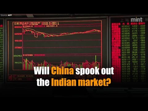 Will China spook out the Indian market?