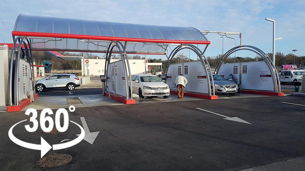 Selfservice Car Wash Macao — Krk  360º Vr  Pointers