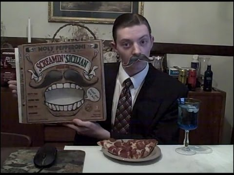 Screamin Sicilian Holy Pepperoni Pizza - Food Review