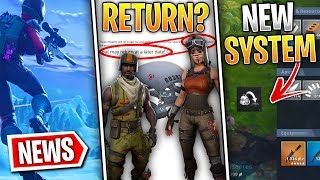 Fortnite News | Season 1 Skins Can Return, Replace Current Weapon System, LTM Changes & More!