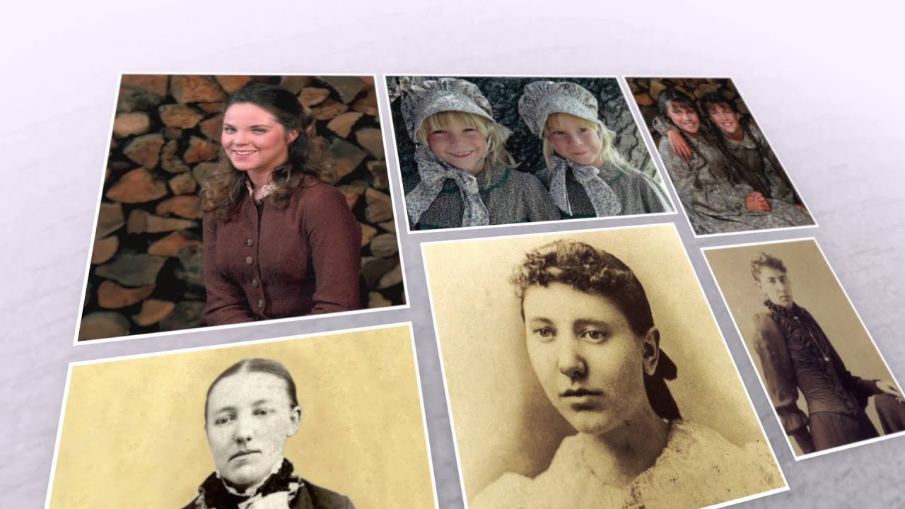 The Ingalls Family – The book family vs  the real family