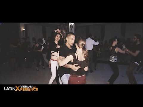 Micka & Emi - Social Dance [Johnny sky - Solo quiero] @ Vietnam LatinXperience Hanoi