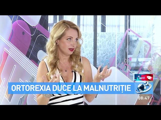 "Ortorexia este o obsesie nesanatoasa pentru alimentatia ""sanatoasa""."