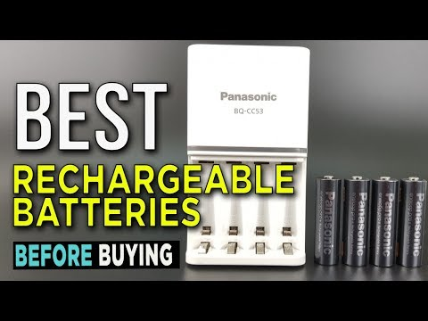 TOP 5: Best Rechargeable Batteries 2017