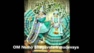 OM Namo Bhagavate Vasudevaya Chants Mantra Bhajan