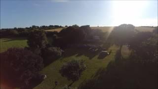 Polglaze Campsite, Fowey, Cornwall