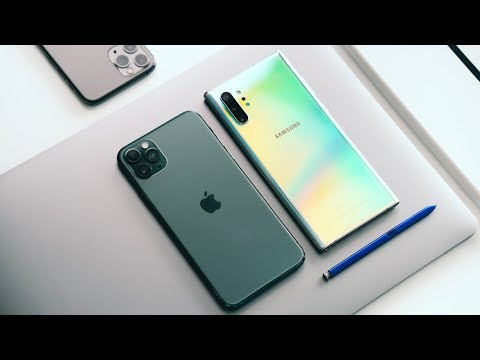 IPhone 11 Pro Max VS Samsung Galaxy Note 10 Plus!