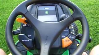 John Deere X320 Walkaround and Review Part One of Two.