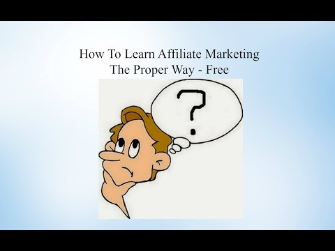 Affiliate Marketing For Beginners - How Does Affiliate Marketing Work? NEW 2016