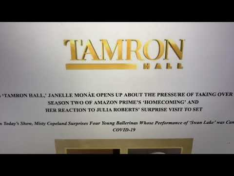 Tamron Hall Show May 26 Has Janelle Monae And Misty Copeland As Guests