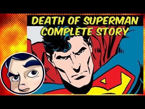 Death of Superman (1992 Doomsday VS Superman) - Complete Story